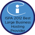 ISPA 2012 Winner Best Large Business Hosting Provider