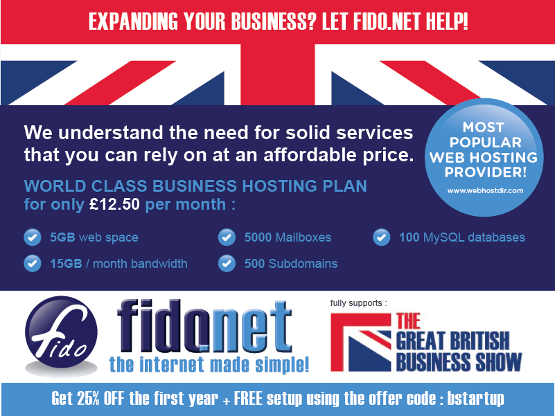 Great british business show web special for Colocation brighton